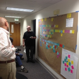 Donald Bell Facilitates the value-add Analysis for the OME team.