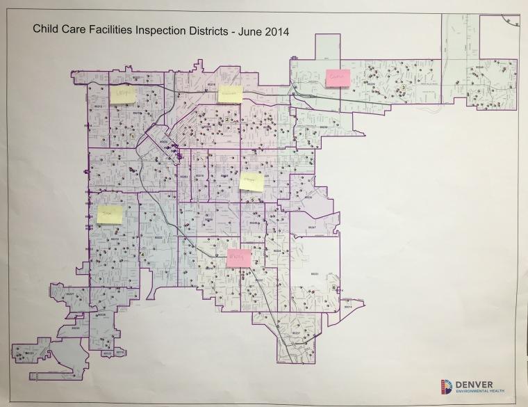 Denver District Map