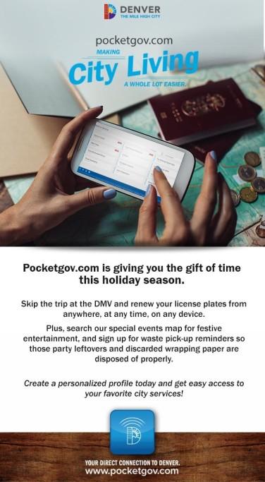 Pocketgov Gift of Time