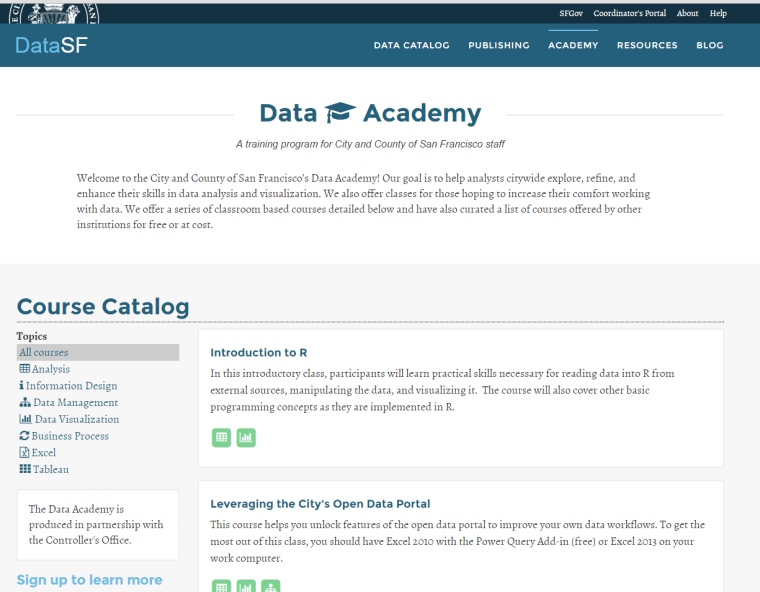 SF Data Academy