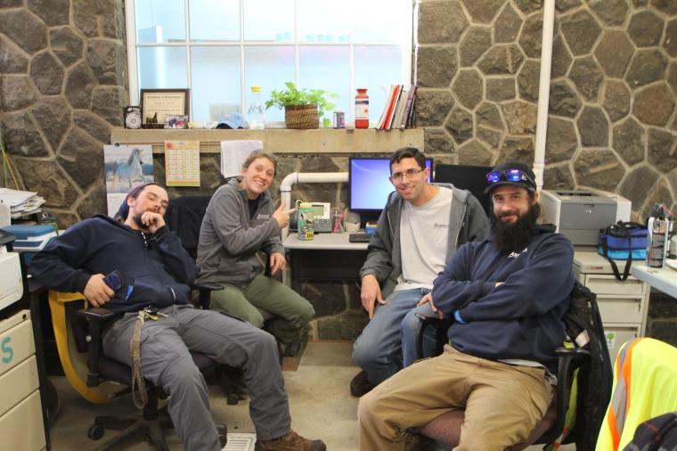 Greenhouse crew